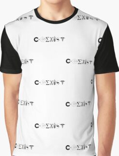 Science Coexist Graphic T-Shirt
