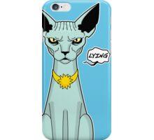 Lying Cat II iPhone Case/Skin