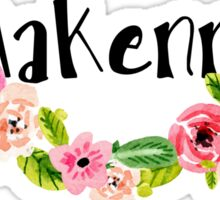 Makenna Floral Sticker