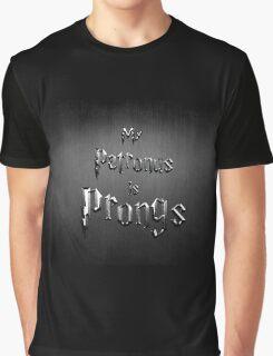 My Patronus is Prongs Graphic T-Shirt