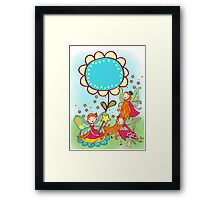 Beautiful Magical Fantasy Fairies  Framed Print