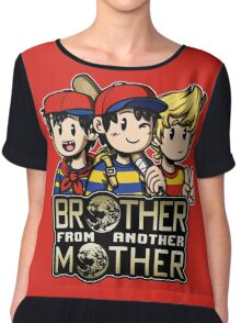 Another MOTHER Trio (Ness, Ninten & Lucas) Chiffon Top