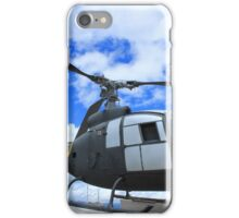 Helicopter on Display iPhone Case/Skin
