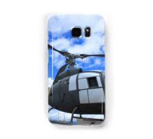 Helicopter on Display Samsung Galaxy Case/Skin