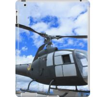 Helicopter on Display iPad Case/Skin