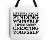 George Carlin Quote Inspirational Motivational Cool Smart Tote Bag