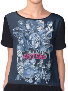 SUPER SMASH SISTERS 2016 Chiffon Top