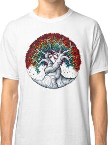 Growing rainbow zendoodle Classic T-Shirt