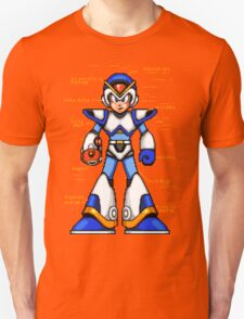 Rock Man X Unisex T-Shirt