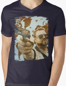 A World Of Pain Mens V-Neck T-Shirt
