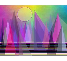 Abstract Elevation Photographic Print