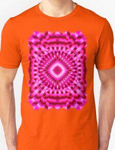 Mandala Hot Pink Hypnotic T-Shirt