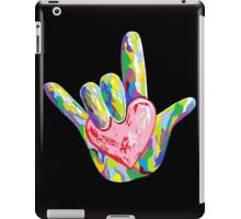 ASL - I HEART YOU! iPad Case/Skin