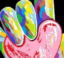 ASL - I HEART YOU! Sticker