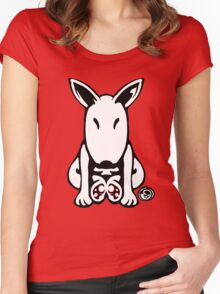 English Bull Terrier Tee  Women's Fitted Scoop T-Shirt