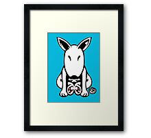 English Bull Terrier Tee  Framed Print