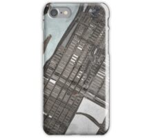 Abstract Map of the Upper East Side, NYC iPhone Case/Skin