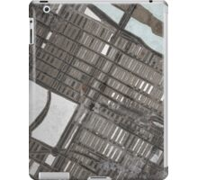 Abstract Map of the Upper East Side, NYC iPad Case/Skin