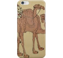 Camels with Dutch Handlers, Unidentified Artist Japanese, 19th century iPhone Case/Skin