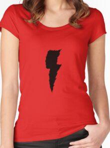 Thunder (black) Women's Fitted Scoop T-Shirt