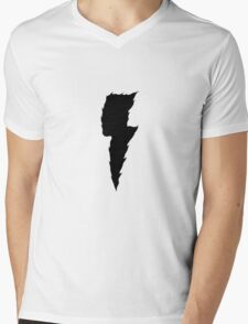 Thunder (black) Mens V-Neck T-Shirt