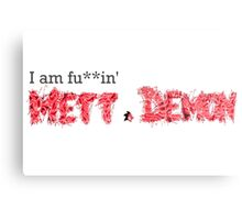 I am Fu**in' Mett Demon Metal Print