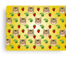 Cat Vector Canvas Print