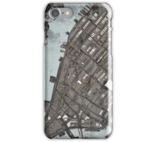 Abstract Map of Manhattan  iPhone Case/Skin