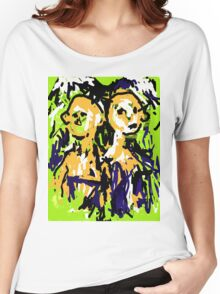 Two Heads Women's Relaxed Fit T-Shirt