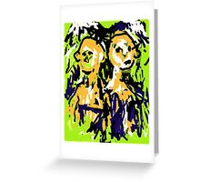 Two Heads Greeting Card
