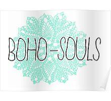 BOHO SOULS Poster