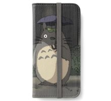 Totoro - Waiting for the Catbus iPhone Wallet/Case/Skin