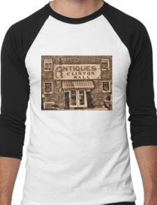 """""""Antiques, Clinton Mall,  #3""""... prints and products Men's Baseball ¾ T-Shirt"""