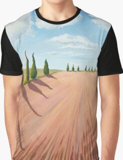 Cypress Trees Graphic T-Shirt