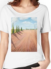 Cypress Trees Women's Relaxed Fit T-Shirt