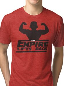 Star Wars - The Empire Lifts Back Tri-blend T-Shirt