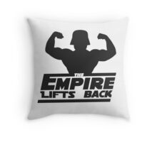 Star Wars - The Empire Lifts Back Throw Pillow