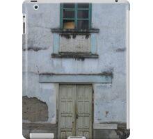 Broken Window and Yellow Door iPad Case/Skin