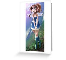 Cute Angel Girl Greeting Card