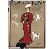 Artist Posters Mascoutah Kennel Club dog show Dogs from both continents Geo Ford Morris 01 0296 iPad Case/Skin