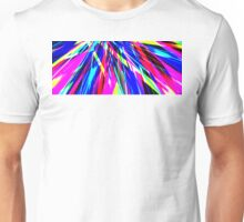 Abstract Spikes Mixed Unisex T-Shirt
