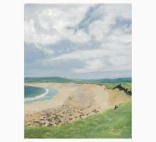 Skara Brae, Orkney Oil Painting Kids Tee