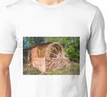 Old Water Wheel Building at Cathedral Rock Unisex T-Shirt