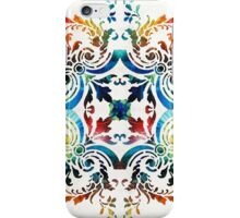 Pattern Art - Color Fusion Design 7 By Sharon Cummings iPhone Case/Skin
