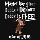 Dobby Graduation 2016 by SpartanArt