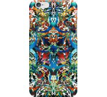 Bold Pattern Art - Color Fusion Design 8 By Sharon Cummings iPhone Case/Skin