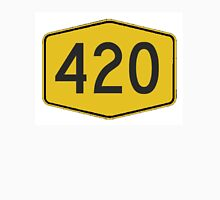 420 Road Sign Unisex T-Shirt