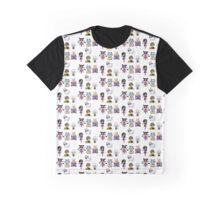 Undertale Friends Part 2 Graphic T-Shirt