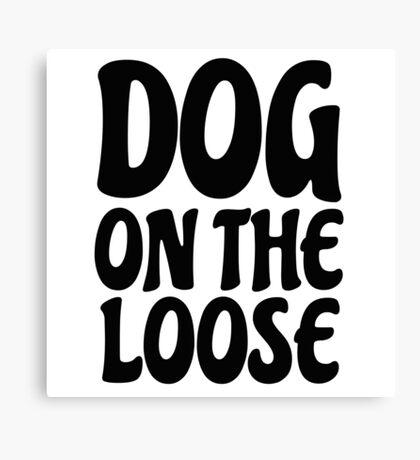 Funny Dog Sex Joke Humour Comedy Player Mens Humour Canvas Print