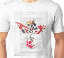 Phileas Fogg dog collage chapter one Unisex T-Shirt
